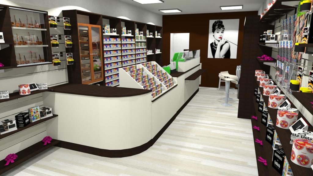 Bancone per tabaccheria mag soluzioni for Arredamento bar tabacchi usato