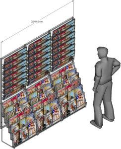 Modularità parete edicola