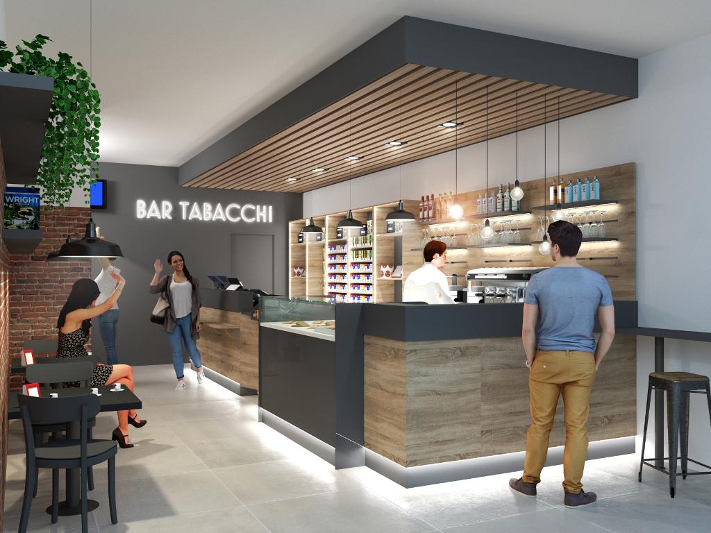 Angolo Bar Arredamento arredamento per bar tabaccheria | magò soluzioni