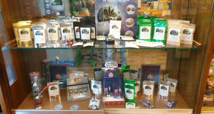 Cannabis in tabaccheria