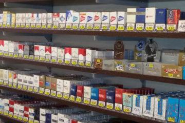 Spingi pacchetto per tabacchi