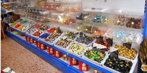 Esposizione caramelle
